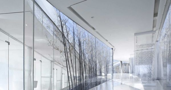 riverside clubhouse, jiangsu by tao trace architecture office - stunning! - architecture
