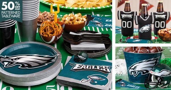 Nfl Philadelphia Eagles Party Supplies Parties