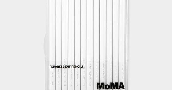 Fluorescent Colored Pencil Set | MoMA Store