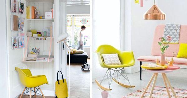 D Coration Id E Inspiration Avec Chaise Fauteuil Bascule De Table Rar Pied Bois Design Eames