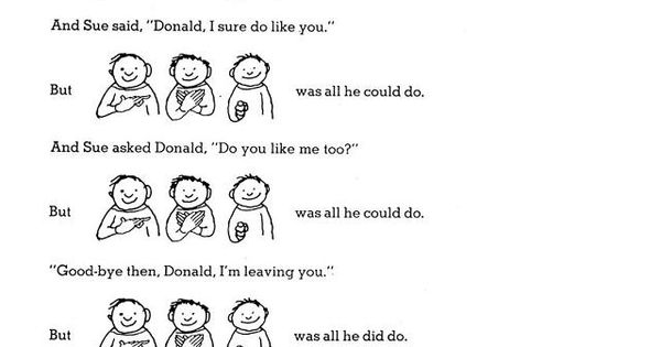 Short Shel Silverstein Quotes: Deaf Donald By Shel Silverstien. Love This!! I've Never
