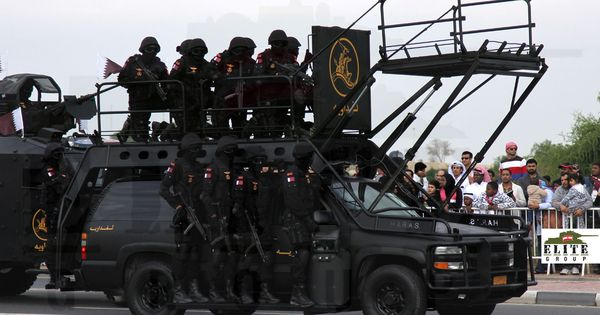 Qatar Internal Security Forces Chevrolet Suburban Swatec