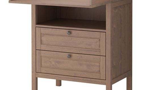 sundvik table langer commode ikea vert pinterest commodes espace de placards et avoir pass. Black Bedroom Furniture Sets. Home Design Ideas