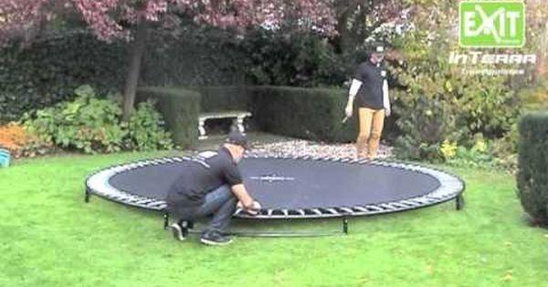 trampoline ingraven stutten