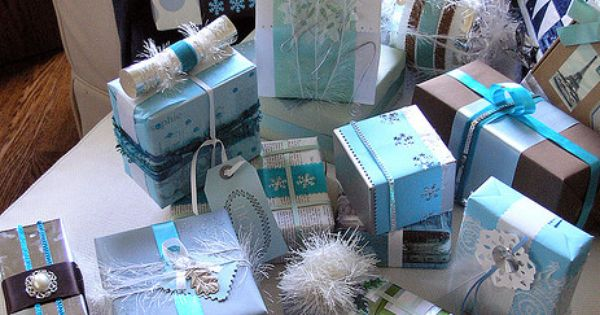 Gift - Pretty packages trimmed with care....