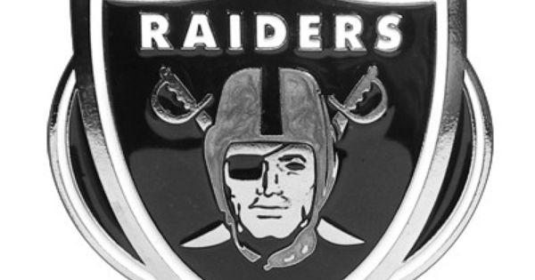 NFL Oakland Raiders Logo Trailer Tow Hitch Cover | SU ...