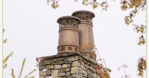 Chimney Caps Pipes And Caps European Copper Chimney Cap French Style Homes Exterior Remodel