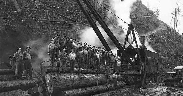 Basket Weaving Supplies Portland Oregon : Simpson logging company grays harbor washington loader