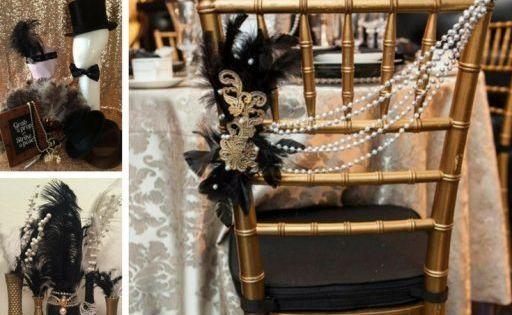 Diy Wedding Great Gatsby Decor Ideas Inspiration