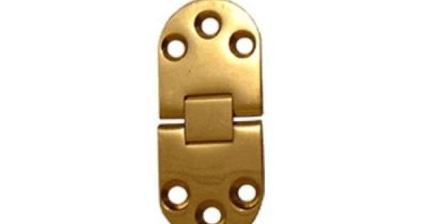 Highpoint Wide Table Hinge Polished Brass 2 3 4 L X 1 3 16 W Pair Requires No 6 Screws Not Included Polished Brass Brass Hinges Brass