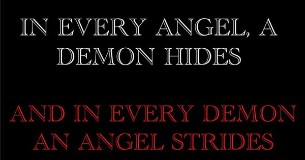 Angel And Demon Love Quotes: Angels And Demons Quotes