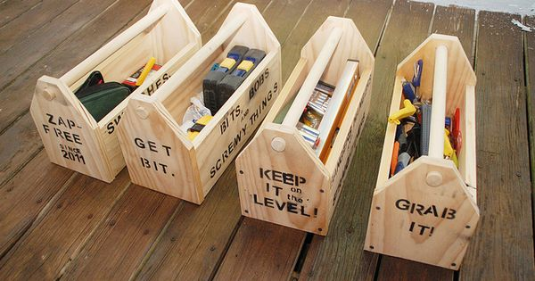 DIY toolboxes - great way to keep things organized (and ...
