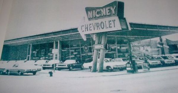 1960 S Nickey Chevrolet Dealership Chicago Illinois Chevrolet