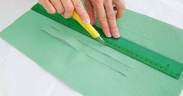 Porte-crayons en feutrine Diy back to school : DIY Felt Pencil Carrying