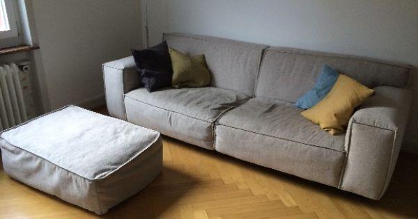 Vesta 3 Er Sofa Und Hocker