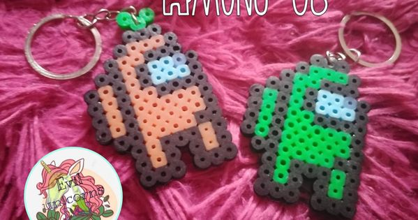 Among Us Perler Beads Perler Bead Designs Bugelperlen Bastelideen Taking all your tubs of beads and pegboards with you in the car, bus or plane can easily turn into one big mess. among us perler beads perler bead