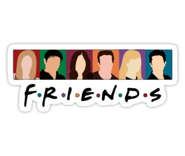 Friends Stickers By Geraart Redbubble With Images Stickers
