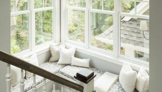 fensterbank innen einbauen 15 beispiele zum nachschauen interior pinterest interiors. Black Bedroom Furniture Sets. Home Design Ideas