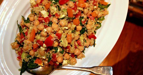 Quinoa salad, A bowl and Quinoa on Pinterest
