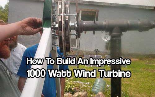 Home Build Wind Turbine