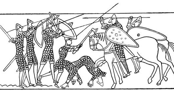 Bayeux Tapestry Coloring Pages Free Bayeux Tapestry Bayeaux