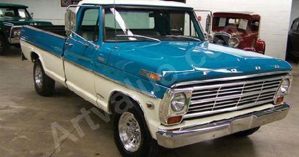 1969 Ford F250 Camper Special Ford Vehicles 1969 Ford F250
