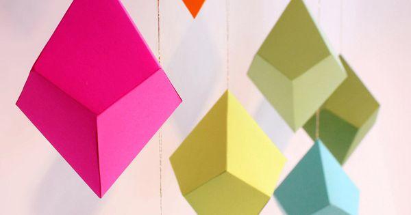 // FieldGuideDesign paper ornament template