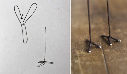 How To Draw Glass Out Of The Foot