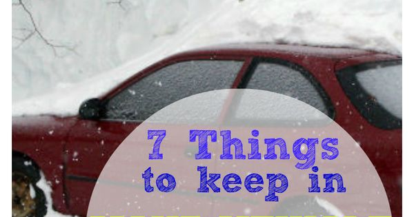 here are 7 things you should keep in your car in winter winter. Black Bedroom Furniture Sets. Home Design Ideas