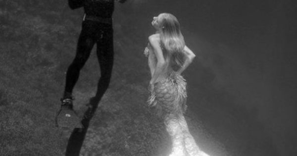 mermaid, captured... Dare to dream