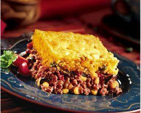 Impossibly Easy Fiesta Bake Recipe Recipes Corn Bread Recipe Jiffy Cornbread Recipes