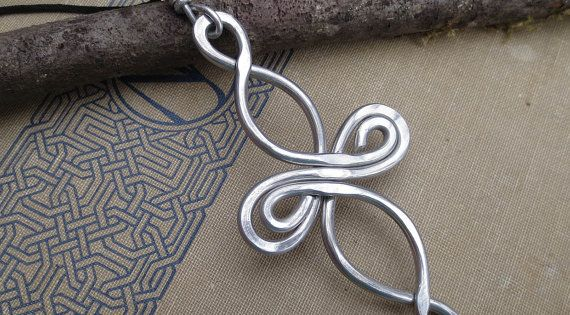 Big Aluminum Infinity Loops Celtic Knot Cross by nicholasandfelice, $16.50