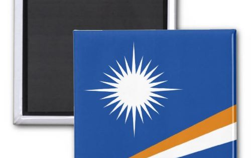 Marshall Islands Flag Magnet Zazzle Com Marshall Islands Flag Custom Magnets Marshall Islands