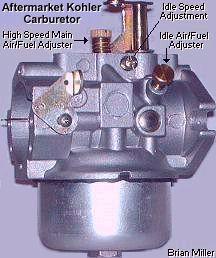 10 18hp Kohler Or Carter Model N Carburetor Lawn Mower Repair Small Engine Automotive Repair