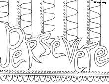 Inspiring Words Coloring Pages Quote Coloring Pages