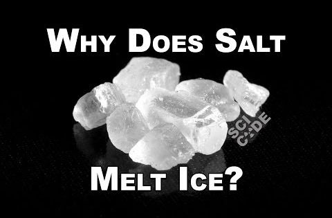 Salt Lamps Do They Melt : Why Does Salt Melt Ice? SCI CODE with Coma Niddy Edu: Science: Chemistry Pinterest Salts ...
