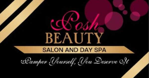 elegant black and gold beauty salon with dark pink bokeh business cards. Black Bedroom Furniture Sets. Home Design Ideas