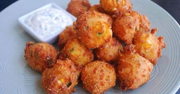 how to make hush puppies with cornmeal