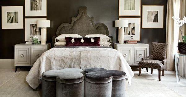 Song of Style: Masculine Bedrooms // headboard