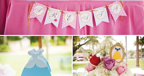 For maybe little girl one day.--->Fairytale Princess Birthday Party included not just