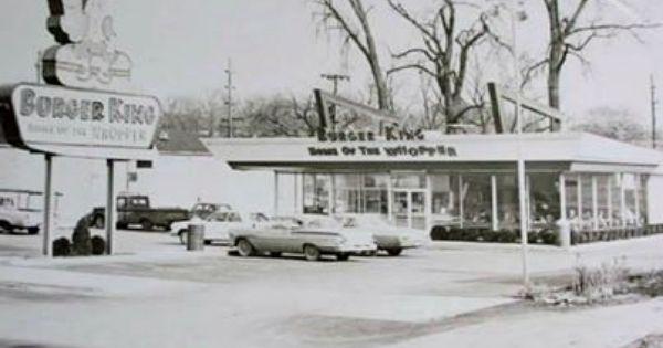 Burger King As I Remember It Vintage Restaurant Chicago History Naperville