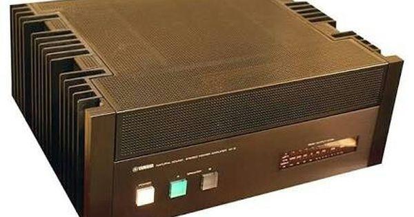 Yamaha M 2 Power Amp 1979 1981 240w Ampli