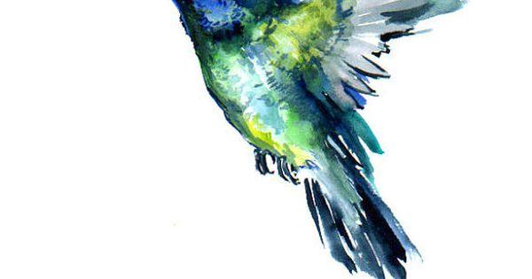 Flying Hummingbird- tattoo idea