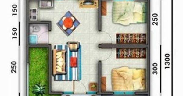 rumah minimalis ukuran 7x10 rumah minimalis pinterest