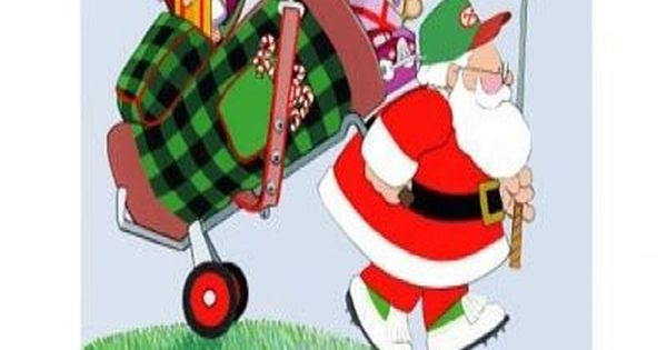 golfing santa | Santa Golfing | Outline designs, Line art design, Cartoon  styles