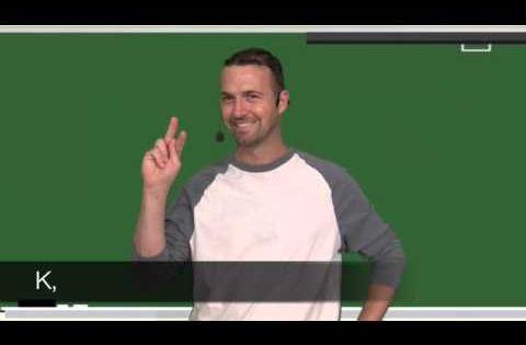 Fun ABC sign language song