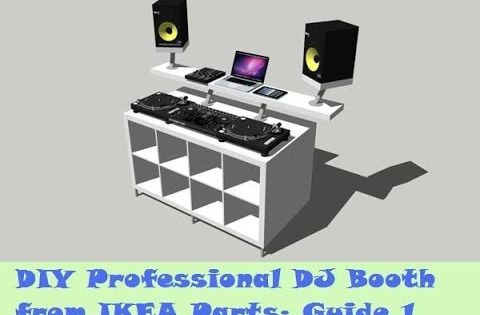 guide diy dj booth from ikea parts build 1 youtube. Black Bedroom Furniture Sets. Home Design Ideas