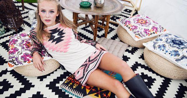 Singer Zara Larsson in Odd Molly Ladybug jumper, Ladybug ...