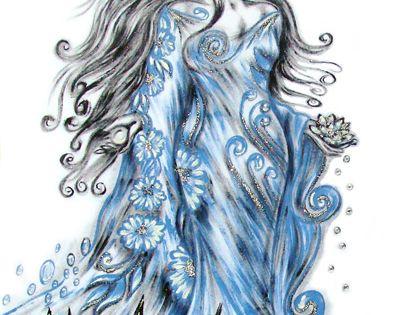 yemanja tattoo google search blessed yemaya water goddesses pinterest tattoo orisha. Black Bedroom Furniture Sets. Home Design Ideas