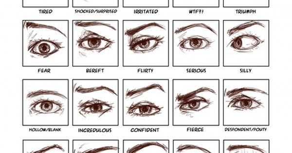 Helpyoudraw Sephytheexalted Emotional Semi Realistic Eyes Thanks